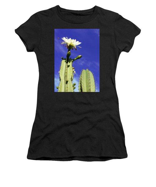 Flowering Cactus 2 Women's T-Shirt