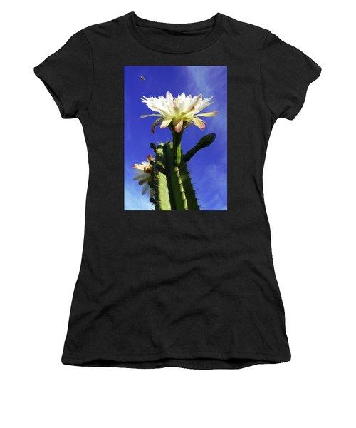 Flowering Cactus 3 Women's T-Shirt