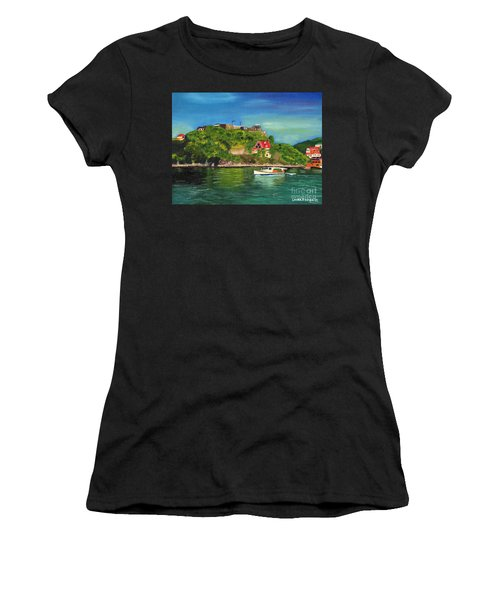 Fort George Grenada Women's T-Shirt (Athletic Fit)