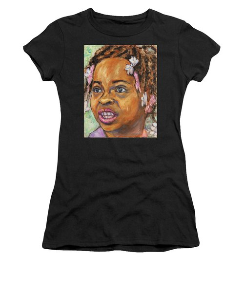 Girl With Dread Locks Women's T-Shirt