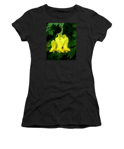 Women's T-Shirt (Junior Cut) featuring the photograph Golden Tears Vine by William Tanneberger