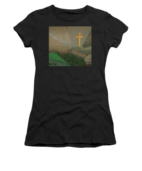 Depression And The Saviour Women's T-Shirt (Athletic Fit)