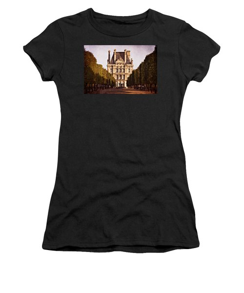 Women's T-Shirt featuring the photograph Jardin Des Tuileries / Paris by Barry O Carroll