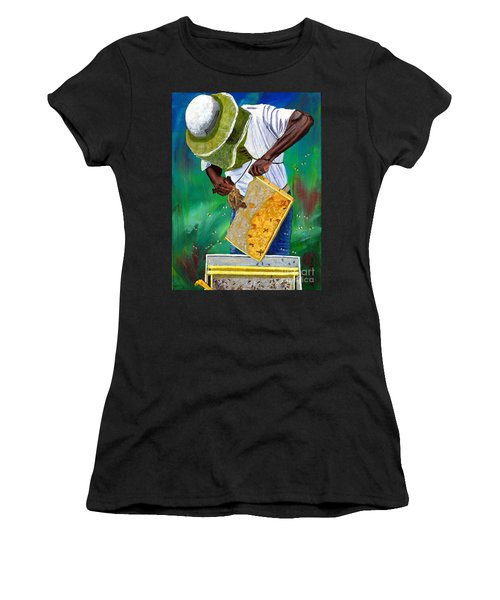 Keeper Of The Bees Women's T-Shirt (Athletic Fit)