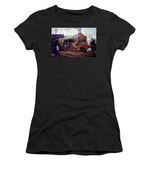 Peppercorn Pacific Kenilworth On Shed. Women's T-Shirt (Athletic Fit)