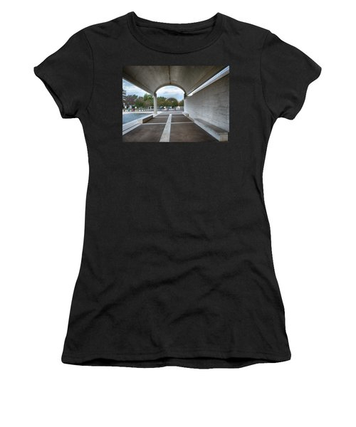 Kimbell Art Museum Fort Worth Women's T-Shirt (Athletic Fit)