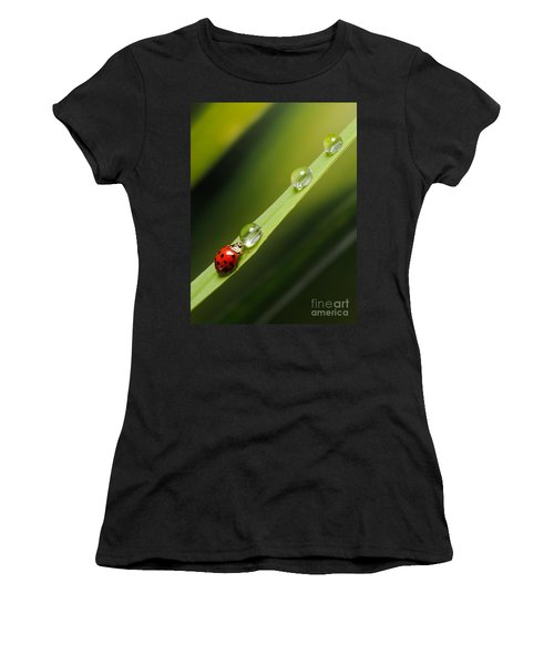Ladybug Drinking Women's T-Shirt