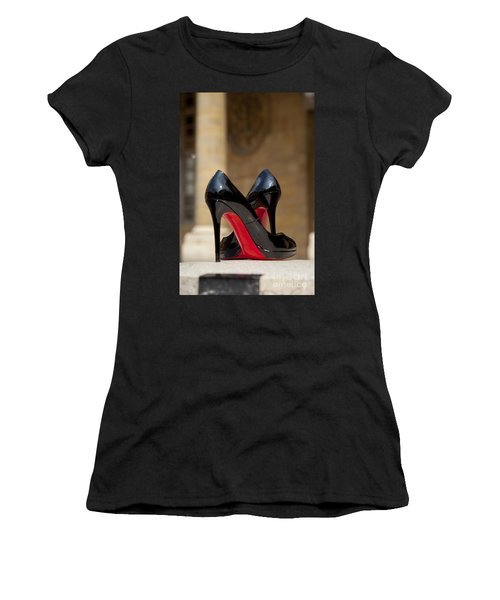 Louboutin Heels Women's T-Shirt (Athletic Fit)