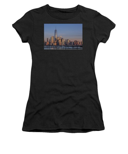 Lower Manhattan Skyline Women's T-Shirt