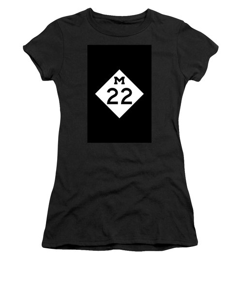 M 22 Women's T-Shirt (Athletic Fit)