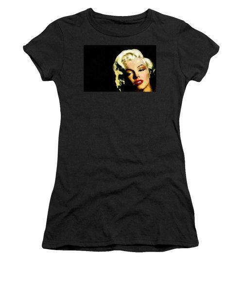 Marilyn Monroe Women's T-Shirt (Junior Cut) by Georgi Dimitrov