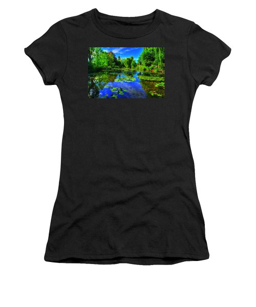 Monet's Lily Pond Women's T-Shirt (Athletic Fit)