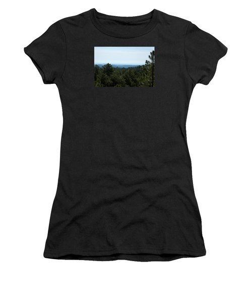 Mountains In The Distance Women's T-Shirt (Athletic Fit)