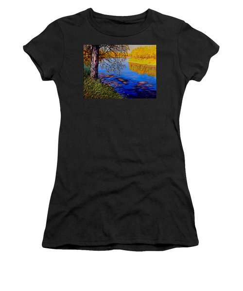 October Afternoon Women's T-Shirt (Athletic Fit)