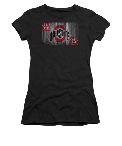 Ohio State Buckeyes Women's T-Shirt (Athletic Fit)