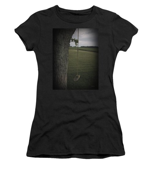 Once Upon A Time Women's T-Shirt (Junior Cut) by Cynthia Lassiter