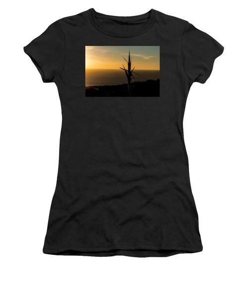 One At Sunset Women's T-Shirt (Athletic Fit)