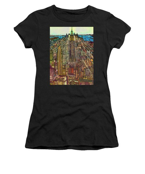New York Mid Manhattan 1971 Women's T-Shirt
