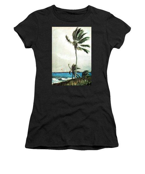Palm Tree Nassau Women's T-Shirt