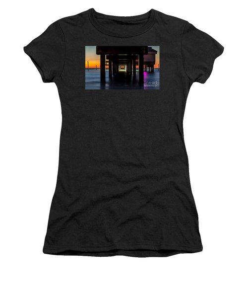 Pier Under II Women's T-Shirt (Athletic Fit)