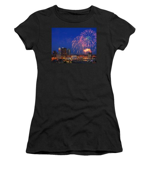 Red White And Boom Photo Women's T-Shirt