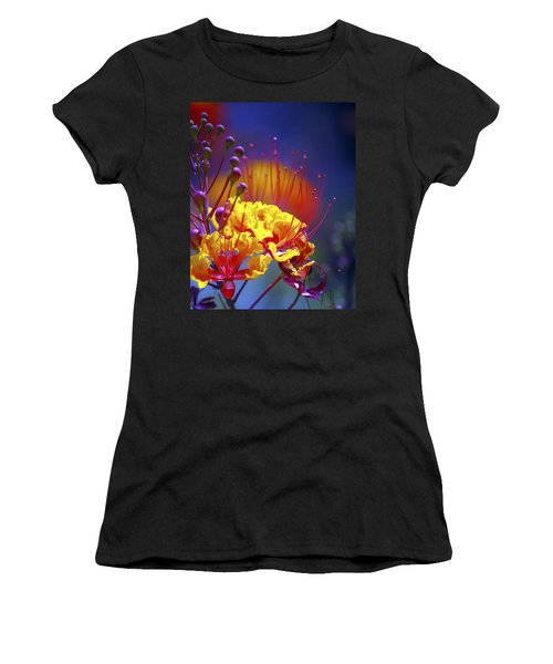 Red Yellow Blossoms 10197 Women's T-Shirt