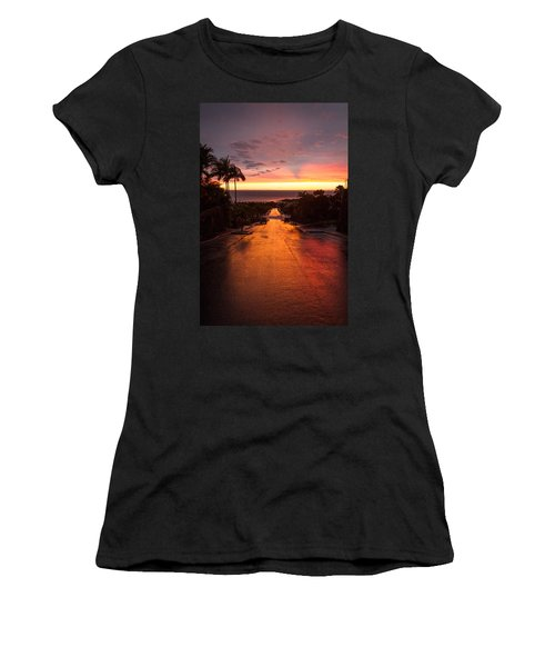 Sunset After Rain Women's T-Shirt (Athletic Fit)