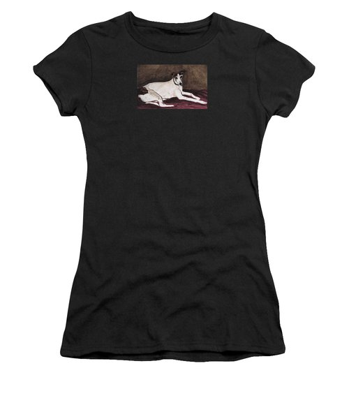 Resting Gracefully Women's T-Shirt (Athletic Fit)