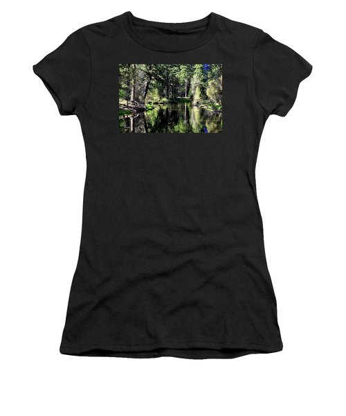 River Reflections Women's T-Shirt (Athletic Fit)