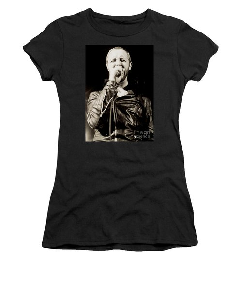 Rob Halford Of Judas Priest At The Warfield Theater During British Steel Tour - Unreleased  Women's T-Shirt (Athletic Fit)
