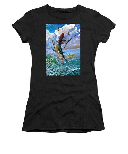 Sailfish And Lure Women's T-Shirt