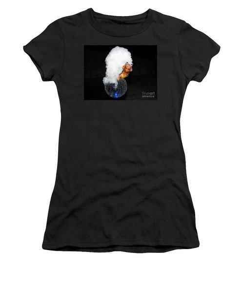 Smile Women's T-Shirt (Junior Cut) by Leone Lund