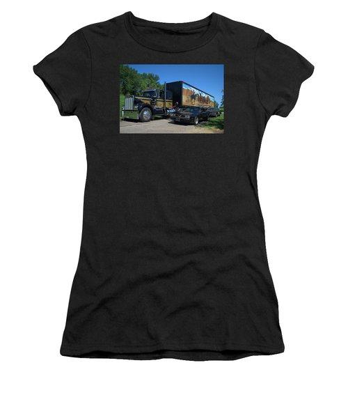 Smokey And The Bandit Tribute 1973 Kenworth Semi Truck And The Bandit Women's T-Shirt