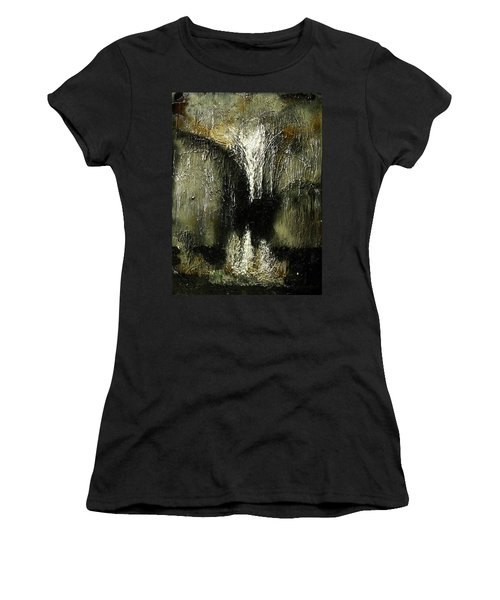 Stalactites And Stalagmites Women's T-Shirt (Athletic Fit)