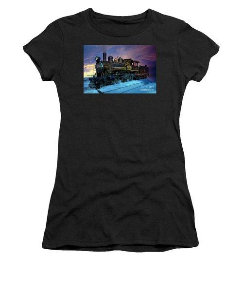 Steam Engine Nevada Northern Women's T-Shirt
