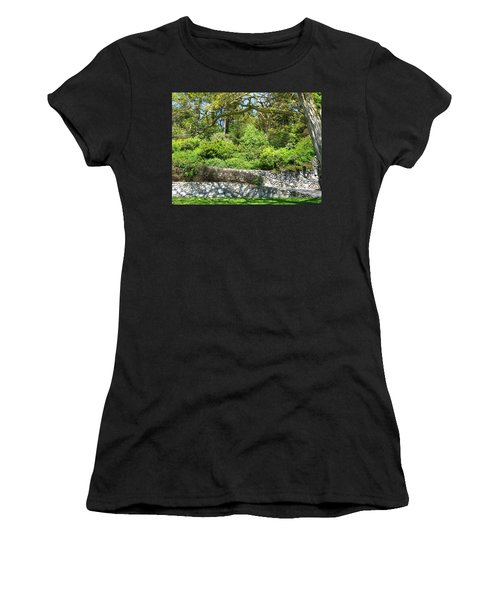 Stone Wall 1 Women's T-Shirt (Athletic Fit)