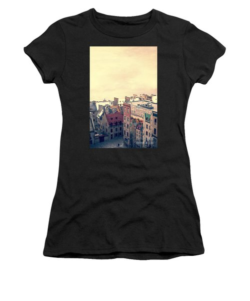 Streets Of Old Quebec City Women's T-Shirt