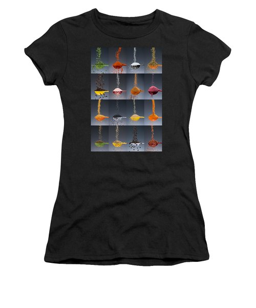 1 Tablespoon Flavor Collage Women's T-Shirt