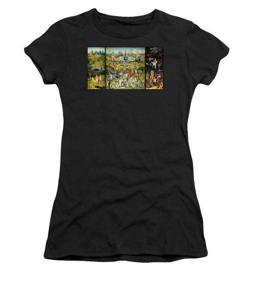 The Garden Of Earthly Delights Women's T-Shirt