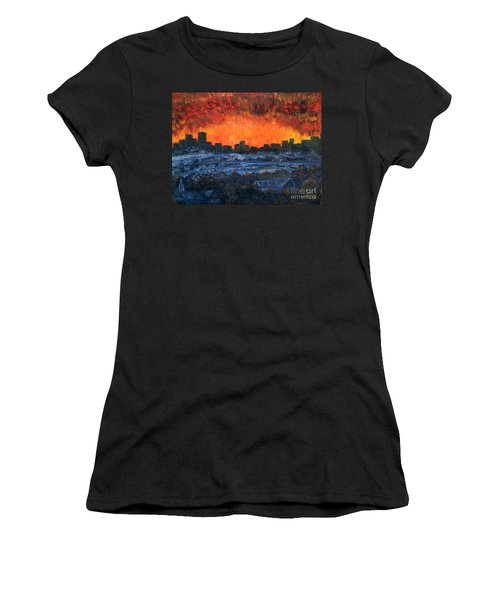 The Night The Lights Went Out Women's T-Shirt (Athletic Fit)