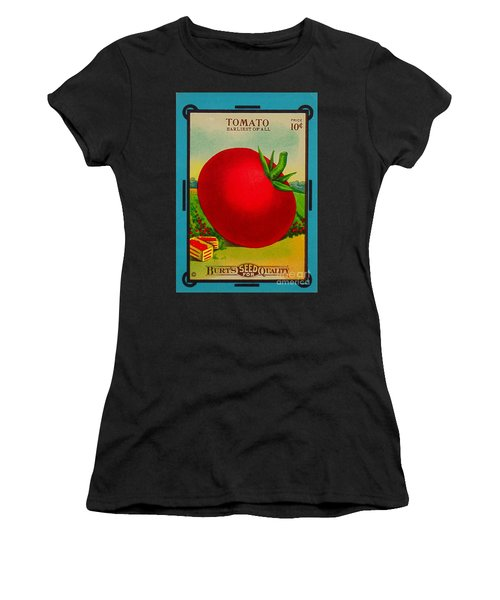 Tomato Seed Package. Antique. 100 Years Old Women's T-Shirt (Athletic Fit)