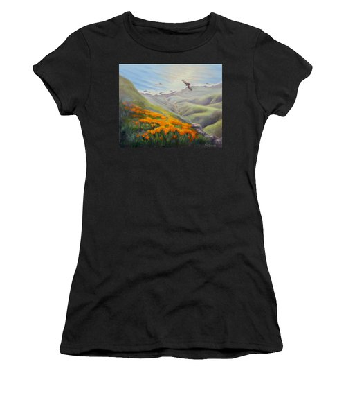 Through The Eyes Of The Condor Women's T-Shirt (Athletic Fit)