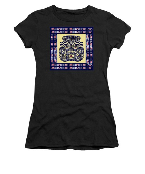 Marquesas Tribal Spirits Women's T-Shirt (Athletic Fit)