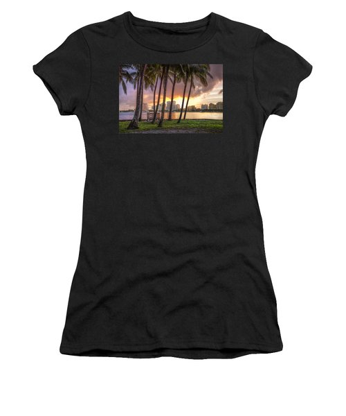 West Palm Beach Skyline Women's T-Shirt