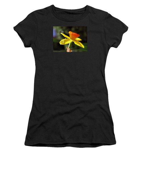 Women's T-Shirt (Junior Cut) featuring the photograph Wide Open by Joe Schofield