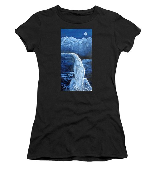 Winter Goddess Women's T-Shirt (Athletic Fit)