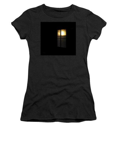 Winter Sunset Women's T-Shirt (Junior Cut) by Cynthia Lassiter