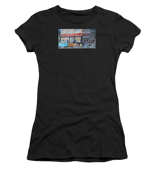 Woolworth's Holiday Shopping Women's T-Shirt (Athletic Fit)