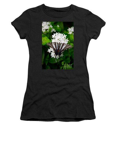 Zebra Swallowtail Women's T-Shirt (Athletic Fit)