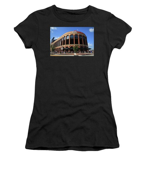 Citi Field - New York Mets 3 Women's T-Shirt (Athletic Fit)